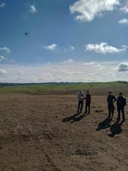 Aerolevantamento com drone