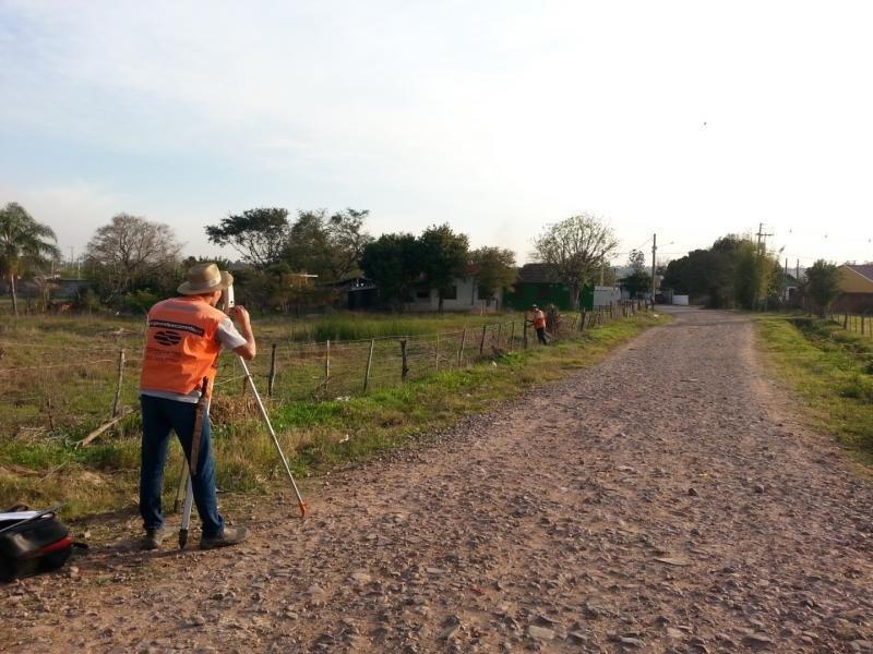 Levantamento topografico rural